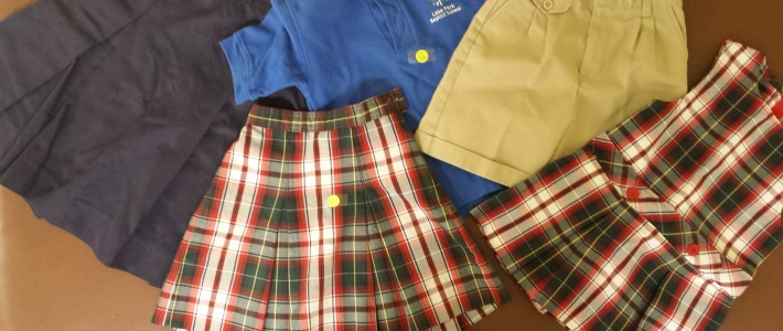 Gently Used Uniforms on Sale!