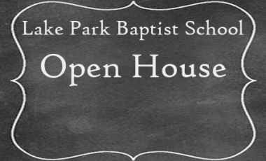 Open House: Thursday, October 27, 2016