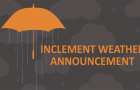 Weather Announcement
