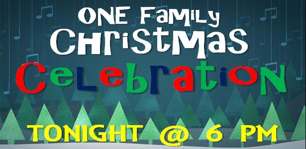 ONE Family Christmas Celebration