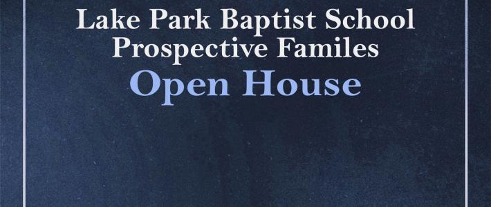 Open House: Tuesday, January 30, 2018